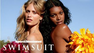 Julie Henderson & Jessica White Will Make You Beat Your Drum | On Set | Sports Illustrated Swimsuit