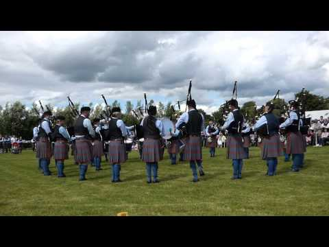I play in a band from Northern Ireland. Here we are winning the Ulster Championships in Co. Omagh in August of 2014