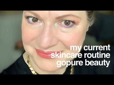 My morning and night skincare rituals | gopure beauty