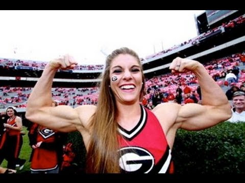 Anna Watson Cheerleader: Female Muscle, Not Steroids