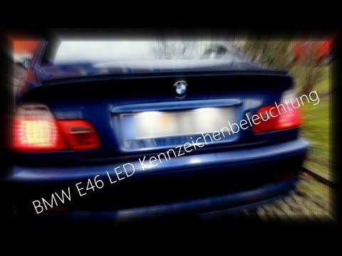 BMW E46 LED Kennzeichenbeleuchtung | Win Power