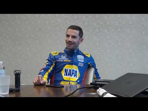 Q&A with IndyCar driver Alexander Rossi