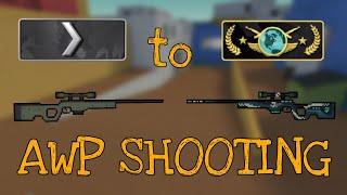 Block Strike | Silver 1 to Global Elite ★ AWP Shooting