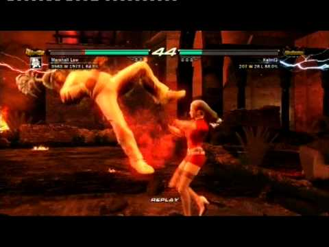 Tekken 6 Online: Law [KBB] vs. Alisa