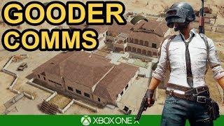 GOODER COMMS / PUBG Xbox One X