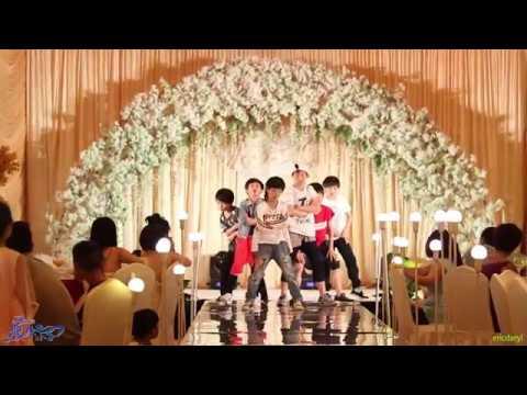 2015.5.30 Dragon Boys Wedding Performance 龙拳小子 婚礼表演 防弹少年团 BTS《男子汉 Boys In Luv,Danger》儿童版 Kids Ver.