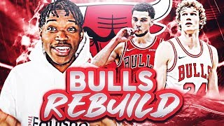 CHICAGO BULLS REBUILDING CHALLENGE IN NBA 2K20