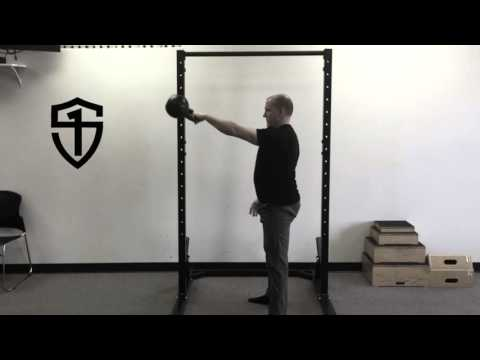 Slow-Motion Kettlebell Swing and Snatch
