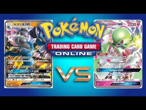 Lucario GX / Zoroark GX vs Gardevoir GX – Pokemon TCG Online Game Play