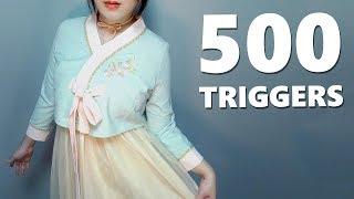 ASMR Ultimate 500 Triggers 🌟
