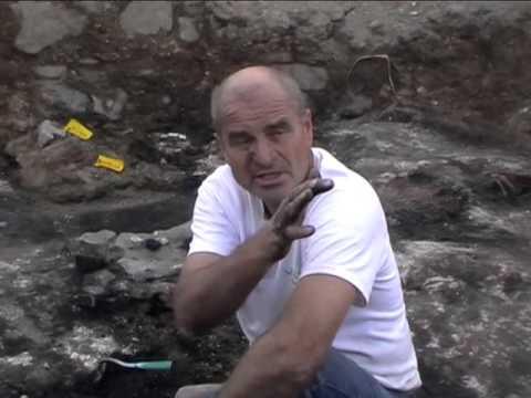 A bonyhádi régészeti ásatásokról közvetített média szakkörünk.