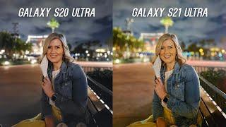 Galaxy S21 Ultra vs Galaxy S20 Ultra Camera Test Comparison: Upgrade?