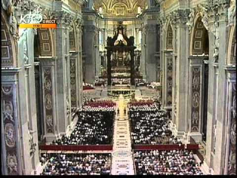Vêpres pour l'ouverture de l'année du prêtre