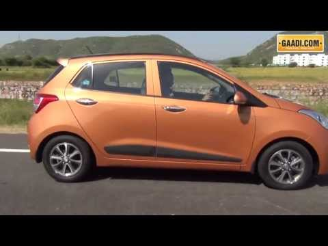 Hyundai Grand i10 Test Drive Review in India