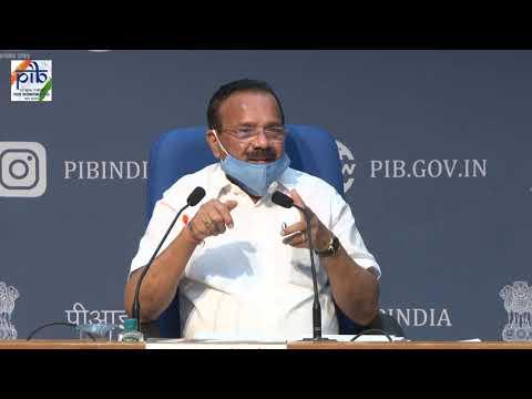 Press Conference by Union Minister D. V. Sadananda Gowda & MoS Mansukh Mandaviya