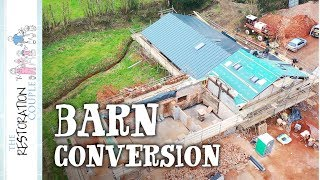 Couple Transform COW SHED TO FAMILY HOME