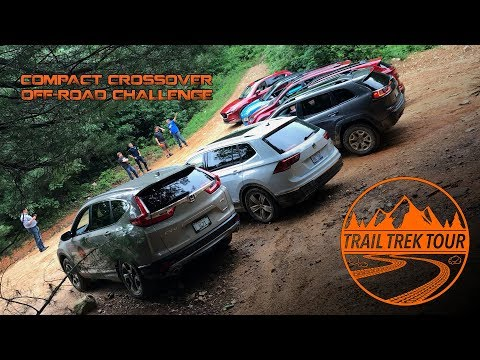 Trail Trek Tour : Compact Crossover Off-Road Challenge : #TrailTrekTour