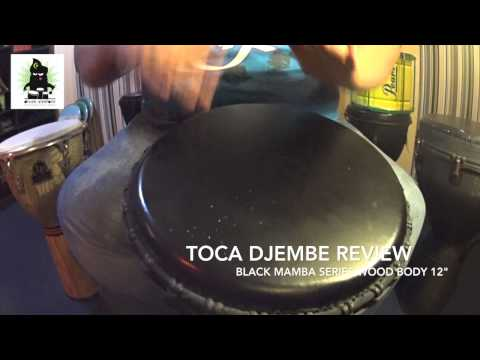 Djembe Review : TOCA Black Mamba Series 12″ (HD) | by Drum Simfoni