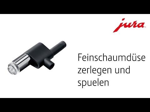 JURA | Feinschaumdüse zerlegen und spülen