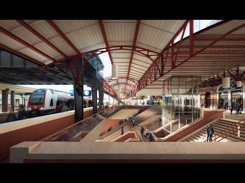 Kijk mee met het nieuwe voorlopige ontwerp voor station Groningen
