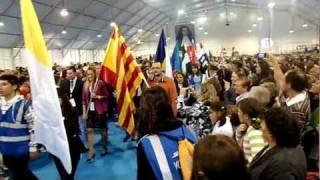 preview picture of video 'Beatificació d'Anna Maria Janer Anglarill. Processó de sortida. La Seu d'Urgell, 7/10/11'