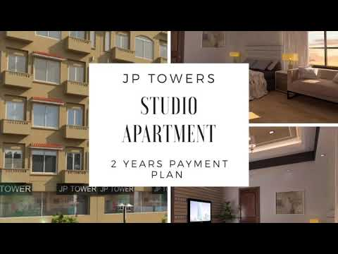 Studio apartments JP Towers Bahria Town Lahore