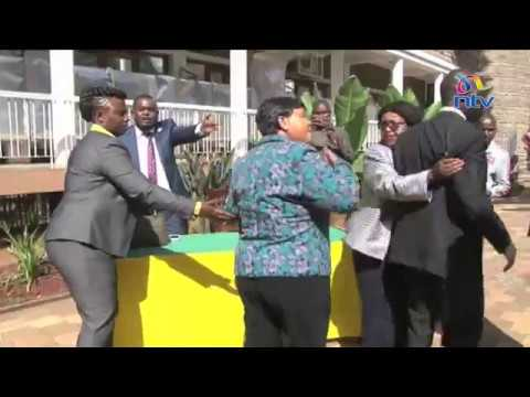 Drama at Cityhall as MCAs fight over proposal to impeach Nairobi county Assembly Clerk
