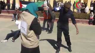 preview picture of video 'flash mob فلاش موب الأقصى عقيدة. ولاية ورقلة / الجزائر مارس 2015'