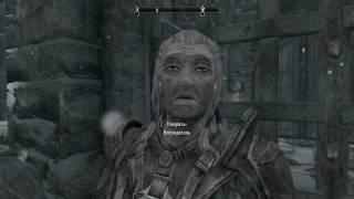 The Elder Scrolls V Skyrim Special Edition Как войти в замок Волкихар.