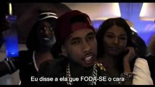 Kid Ink   Main Chick REMIX Explicit ft  Chris Brown, Tyga Legendado