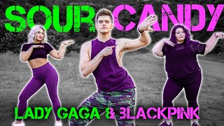 Lady GaGa, BLACKPINK - Sour Candy | Caleb Marshall | Dance Workout