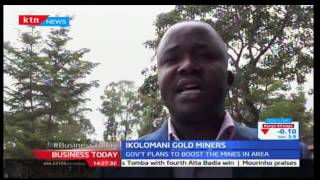 KTN Business Today 19th December 2016 - Government to boost mining in Ikolomani Gold Site