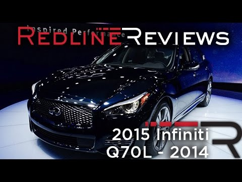 2015 Infiniti Q70L at New York Auto Show