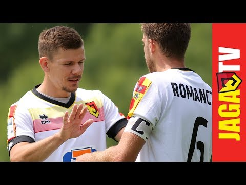 Skrót sparingu Jagellonia Białystok - Stomil Olsztyn 0:3