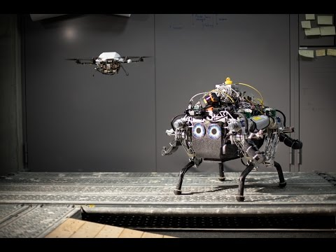 """""""Collaborative Navigation for Flying and Walking Robots"""" by Peter Fankhauser"""