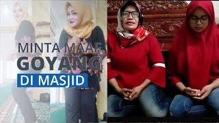 Ketiga Wanita yang Goyang TikTok di Masjid Minta Maaf, Akui Khilaf