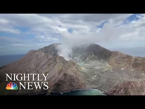 Dangerous Recovery Mission Underway After New Zealand Volcano Eruption   NBC Nightly News