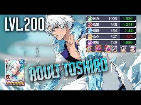 My Ultimate Build: Adult Toshiro (Power/Red) [Bleach Brave Souls]