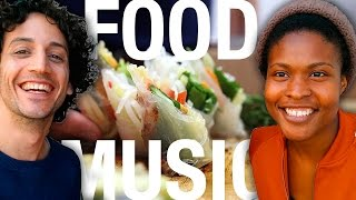 Spring Rolls 3 Ways w/ Singer Sherika Sherard ! Food ♥ Music !