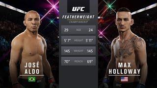 UFC 2 - Жозе Алду против Макса Халловэйя