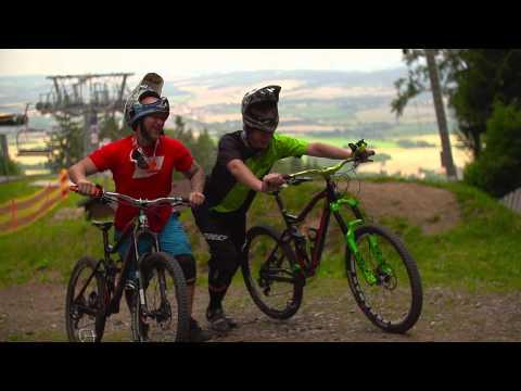 Cyklistika v areálu Monínec