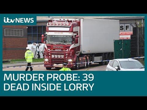 39 people found dead inside lorry in Essex   ITV News