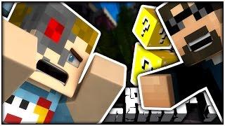 minecraft becoming a robot  terminator lucky blocks?