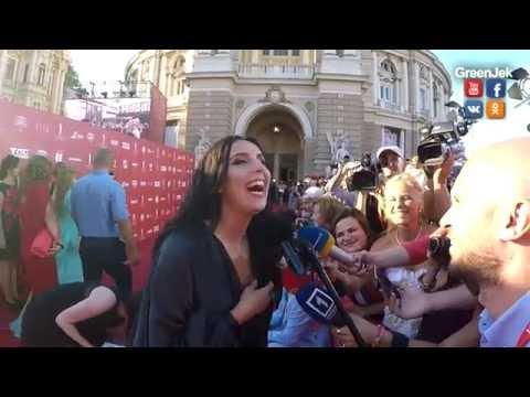 Джамала за Евровидение в Одессе - Jamala supports Eurovision in Odessa