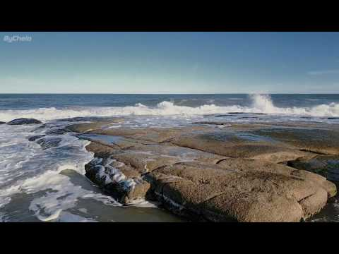 Punta del Diablo  Costa Atlantica  4k Rocha