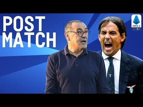 Lazio 3-1 Juventus | Inzaghi & Sarri Post Match Press Conference | Serie A