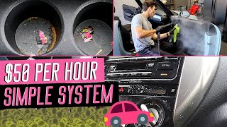 $150 Interior Detail Literally Anyone Can Do | Unbeatable Detailing System!