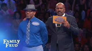 Can the Carrolls make Fast Money pay?! | Family Feud