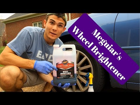 How To Clean Your Wheels/Rims: Meguiar's Wheel Brightener