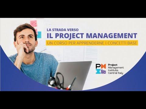 La strada verso in Project management